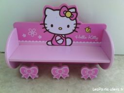 etag�re porte-manteau hello kitty enfant bebe autres charente-maritime
