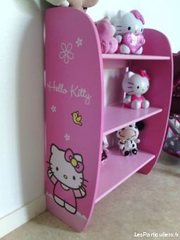 etag�re en bois hello kitty bow  enfant bebe autres charente-maritime