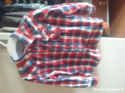 chemise levi's gar�on 4 ans enfant bebe vetements garcons finist�re