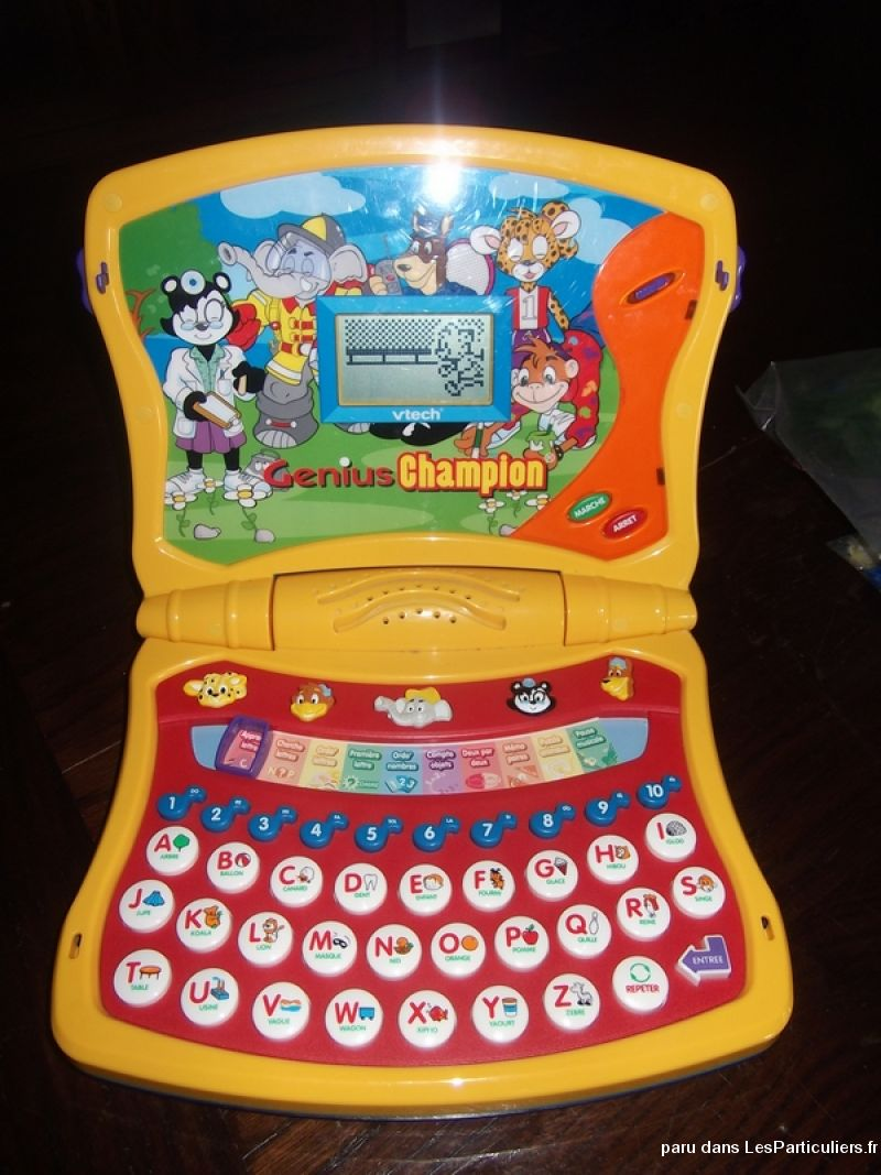 ordinateur genius vtech