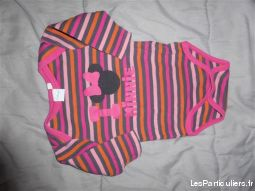 lot de bodys disney 3m com9 pecta enfant bebe vetements bebe hauts-de-seine