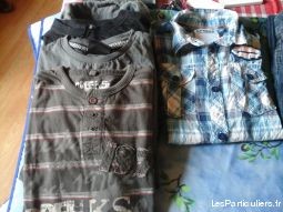 lot de vetements garcon 10ans enfant bebe vetements garcons charente-maritime