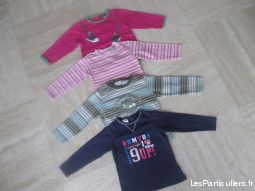 Tee-shirts - Sous pulls fille 12 mois