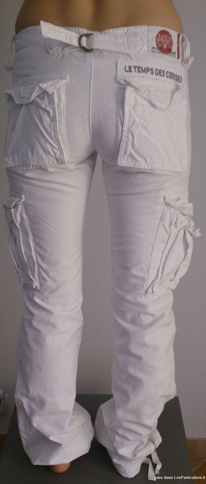 Objet d plac - Pantalon treillis femme le temps des cerises ...