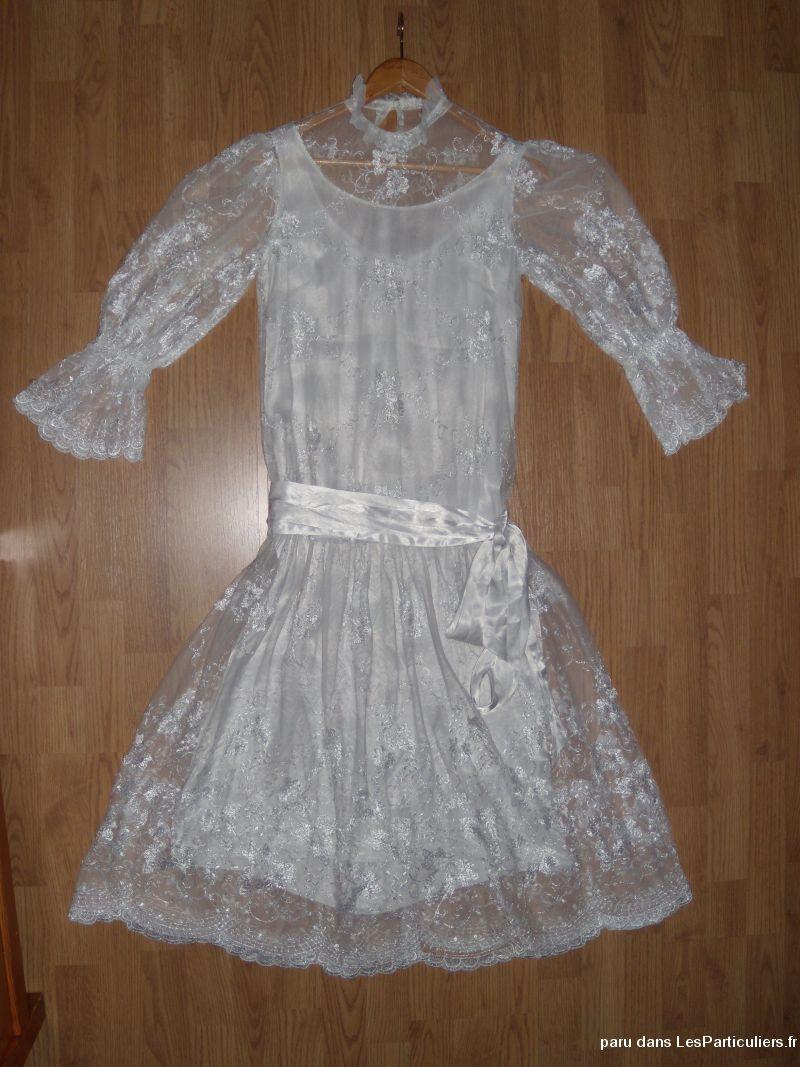 robe de mari e courte style charleston id es et d 39 inspiration sur le mariage. Black Bedroom Furniture Sets. Home Design Ideas