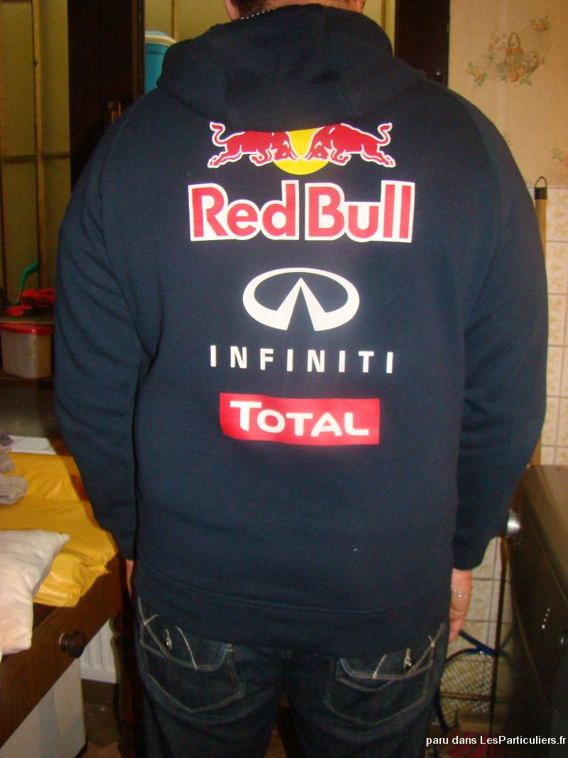 sweat shirt capuche red bull infinity vetements et accessoires moselle. Black Bedroom Furniture Sets. Home Design Ideas