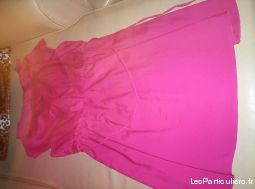 Robe femme rose taille 46