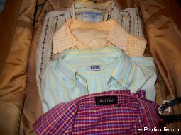 Lot de 4 Chemises homme