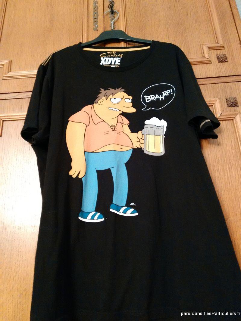 T shirts the simpsons vetements et accessoires seine saint - Vetement simpson ...