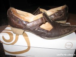 Chaussures femme cuir pointure 38