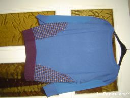 PULL MANCHE 3 / 4 TAILLE 48