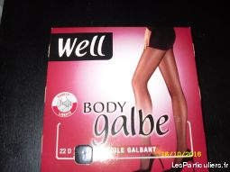 collant  well body  touch   neuf vetements et accessoires femme ain