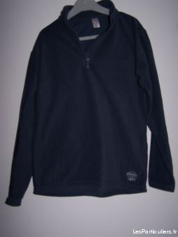 Sweat-shirt Polaire gris 12 ans