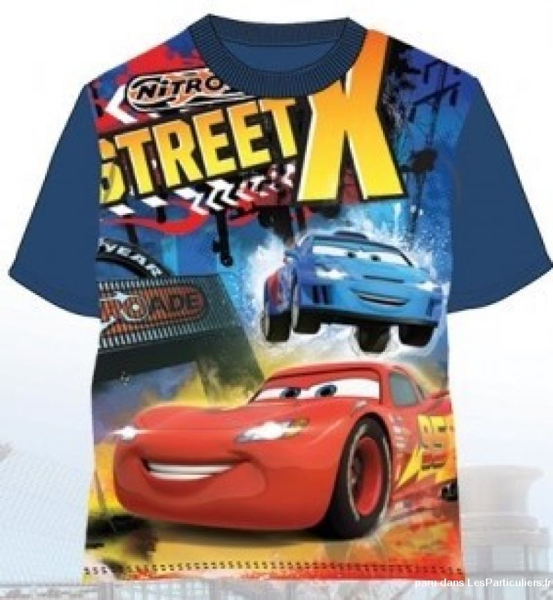 T-shirt manches courtes Disney-Cars