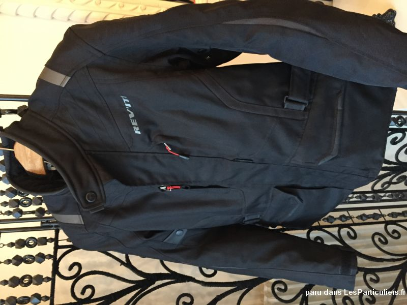 Blouson moto Rev'it noir