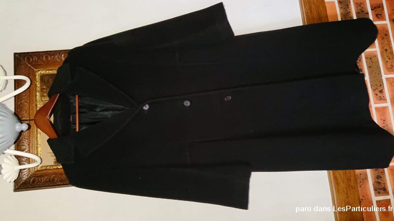 Manteau long noir
