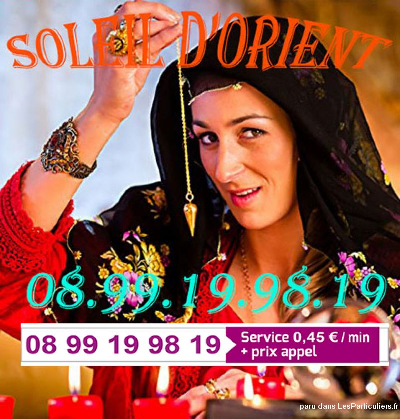 Soleil d'Orient Voyance Services Evenements Voyance Horoscope Paris