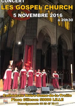 gospel's party ii - gospel church services evenements concert theatre spectacle nord