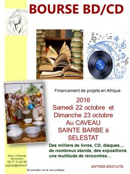 bourse bd / cd services evenements vide grenier brocante bas-rhin