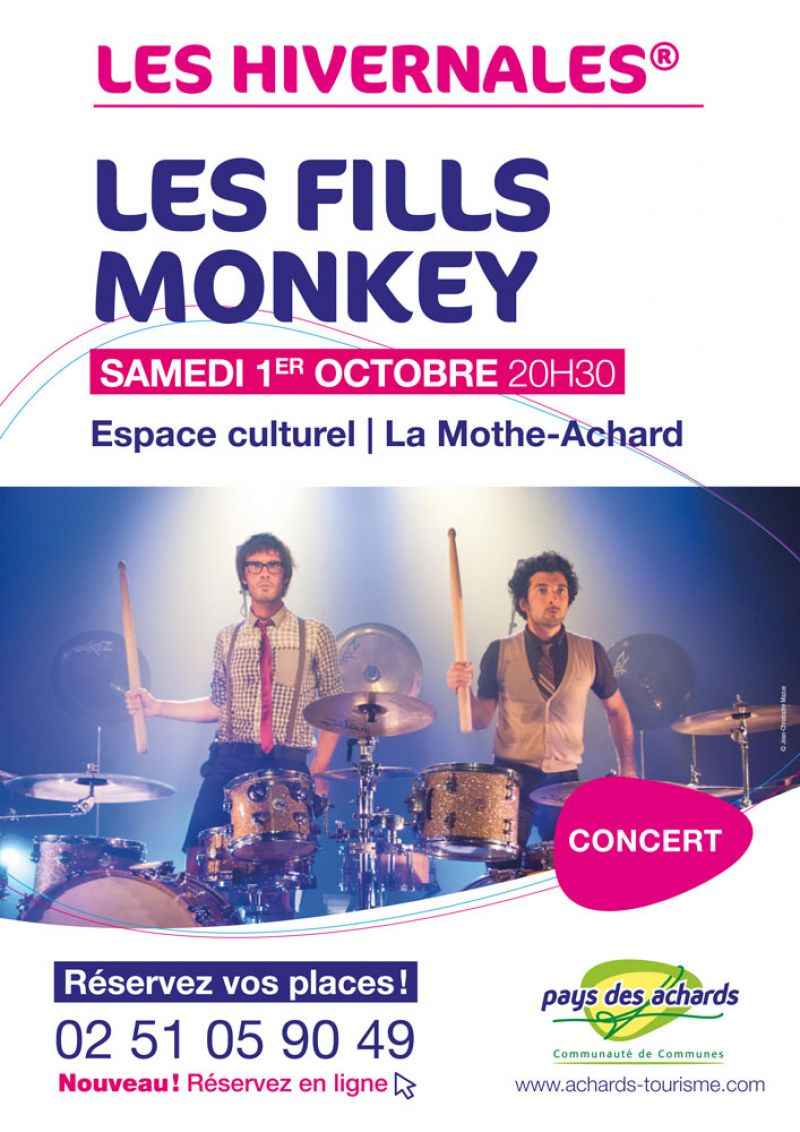 concert les fills monkey services evenements concert theatre spectacle vendée
