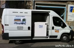 Camion plus remorque barbecue