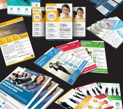 5000 flyers cr�ation int�grale impression livr�s!  services evenements services informatiques sarthe