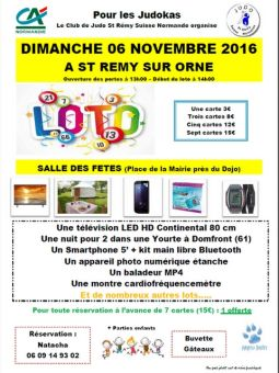 loto st remy sur orne 06/11/16 services evenements organisation evenements calvados