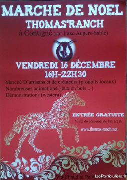 marche de noel au thomas ranch services evenements vide grenier brocante maine-et-loire