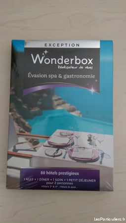 wonderbox évasion spa & gastronomie services evenements idees cadeaux paris