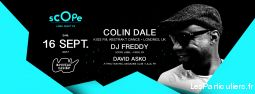 scope label night #3 - colin dale, dj freddy services evenements organisation evenements paris