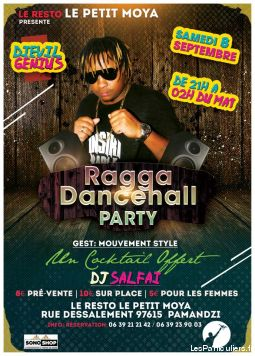 ragga dancehall party services evenements organisation evenements mayotte