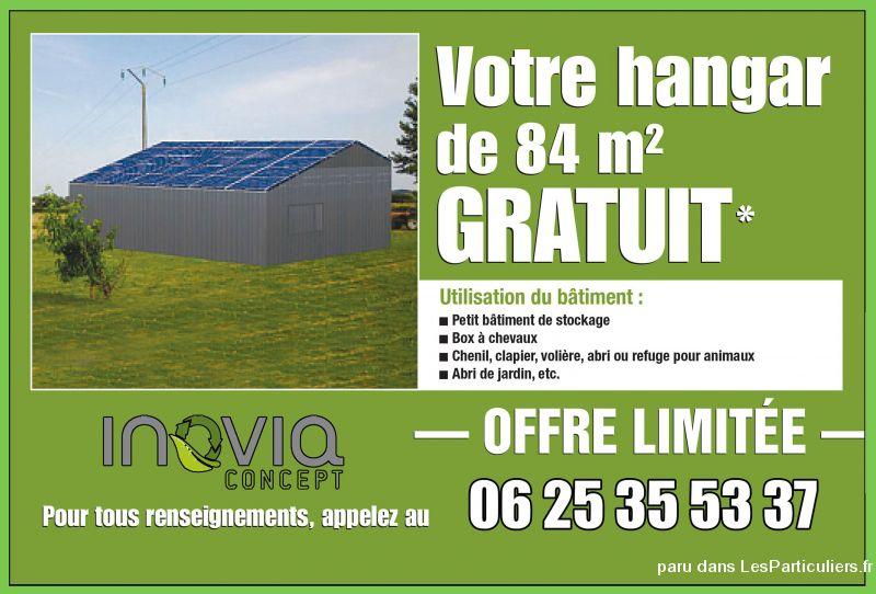 Petites annonces gratuites immobilier batiment agricole - Hangar gratuit avec toiture photovoltaique ...