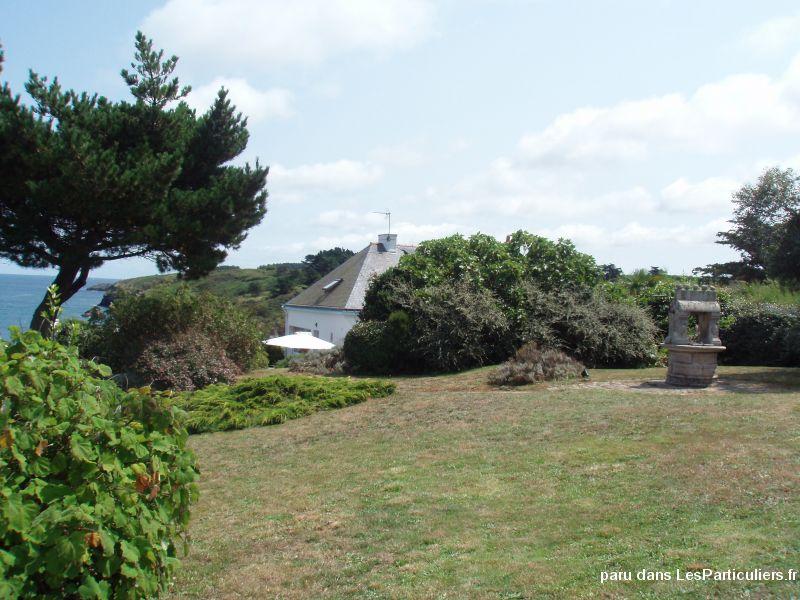 Maison vue sur mer port de sauzon belle ile en mer for Port donnant belle ile