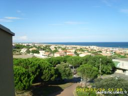 saint-pierre la mer (aude) appartement face mer immobilier location vacances aude