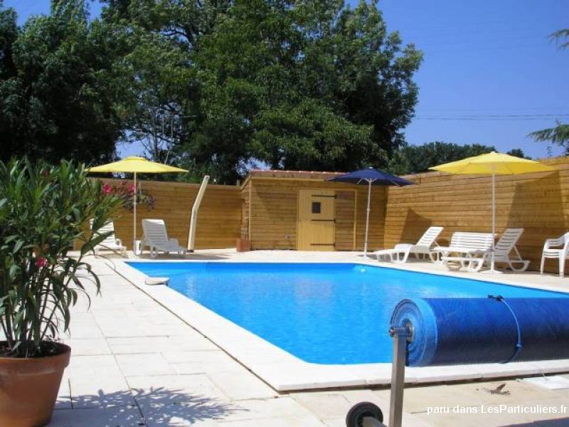 gîte quercynois 8 pers piscine immobilier location vacances aveyron