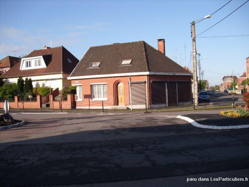 Local commercial avec habitation individuelle immobilier nord for Habitation individuelle