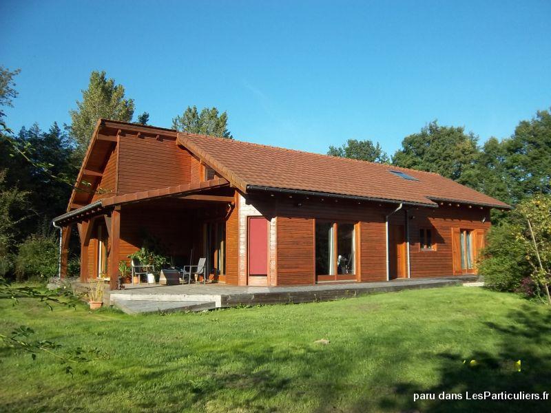 Maison ossature bois immobilier puy de d me for Maison dome en bois