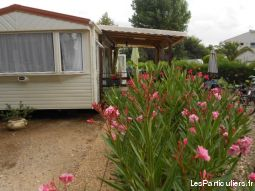 Mobil home 8 pers camping **** VIAS PLAGE 34