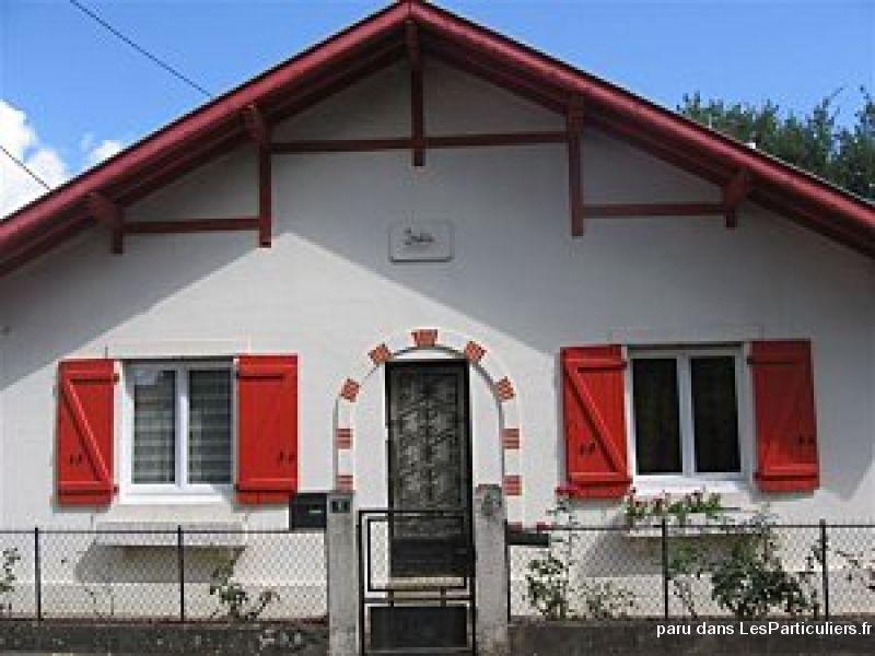Maison saint paul l s dax cure ou vacances immobilier landes for Constructeur maison individuelle dax