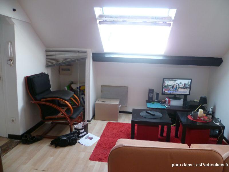 Gd t1 bis meubl mansard dijon r publique immobilier c te for Garde meuble dijon