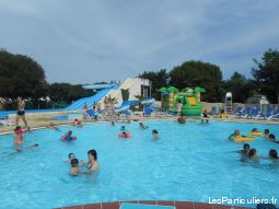 mobil home 4 chambres camping 4* (pass offerts)  immobilier location vacances landes