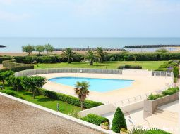 Appartement Cap d'Agde vue mer piscine Rochelongue