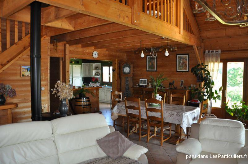Magnifique maison bois la porcherie immobilier haute vienne - Organisation demenagement maison ...