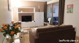 grand studio, port d'antibes avec wifi et parking immobilier location vacances alpes-maritimes