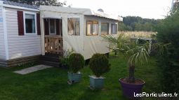 mobil home les charmettes 6  pers immobilier location vacances charente-maritime