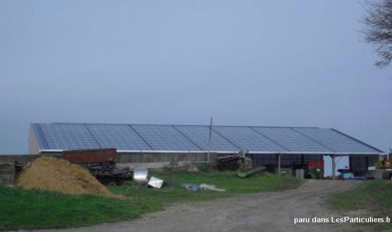 Hangar agricole photovolta que gratuit immobilier tarn - Hangar photovoltaique agricole ...