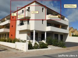 valras t3 comme neuf 2013. prix 207000�. garage immobilier appartement h�rault