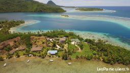 polynesie / huahine maison dans cadre exceptionnel immobilier maison polyn�sie fran�aise
