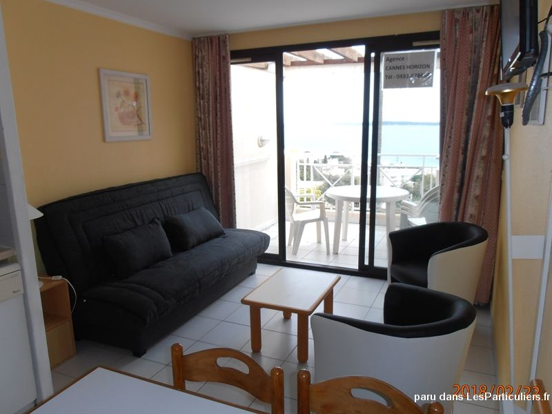 cannes: studio (4 pers), vue super mer, piscine immobilier location vacances alpes-maritimes