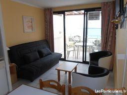 cannes: studio (4pers), vue super mer, piscine immobilier location vacances alpes-maritimes